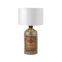 Sterling Signature 1 Light Table Lamp in Aged Mercury 169-014