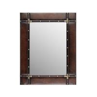 Sterling Travelers Mirror in Dark Tan 170-006