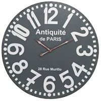 Antique 24 X 2 inch Wall Clock
