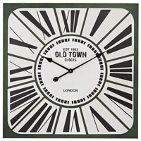 Sterling 171-010 Roman Numeral 27 X 2 inch Wall Clock