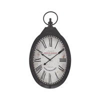 Sterling Signature Wall Clock in Aged Iron 171-017