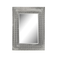 Sterling Pierced Metal Work Mirror in Nickel 172-002