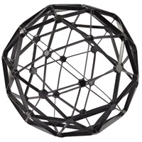 Sterling 172-007 Signature Black Decorative Orb