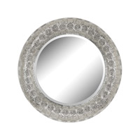 Sterling Embossed Wall Mirror in Nickel 172-014