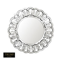 Trump Home 36 X 36 inch Clear and Smoked Mirror Home Decor