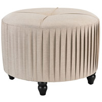 Sterling 180-012 Signature 17 inch Natural Linen Ottoman
