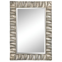 Canal 50 X 35 inch Aged Silver Wall Mirror