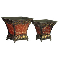 Sterling Industries Set of 2 Garnet Planters 26-0703