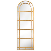 Sterling 26-4640GL Arched Pier 83 X 28 inch Gold Leaf Wall Mirror