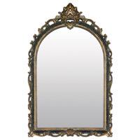 Sterling Industries Arched Acanthus Mirror in Gretna Gold 26-5545M