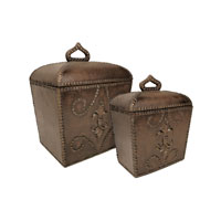 Sterling Industries Set of 2 Antoine Boxes Decorative Accessory 26-5946