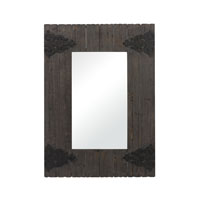 Sterling Industries Wood Framed Mirror in Medford with Aged Iron 26-8648 photo thumbnail