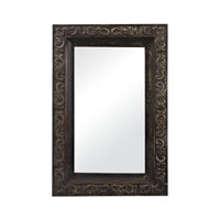 Sterling Industries Embossed Metal Framed Mirror in Kilroy Brown 26-8653
