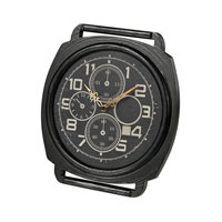 Sterling Signature Clock in Dark Bronze 26-8665