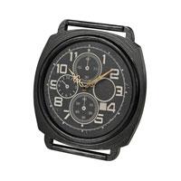 Sterling Signature Clock in Dark Bronze 26-8665