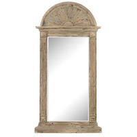 Sterling 3100-006 Classical Arch 91 X 46 inch Aged Warm Oak Wall Mirror