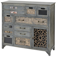Sterling 3116-027 Topanga Antique Grey Cabinet, Medium