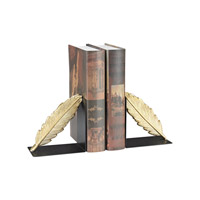 Sterling 3129-1123/S2 Ferrier 11 X 4 inch Gold & Black Bookend
