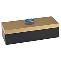 Sangreal Black, Gold Decorative Box
