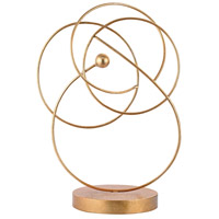 Sterling 3138-222 White And Gold 19 X 13 inch Wire Sculpture