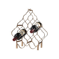 Signature Metallic Wine Rack