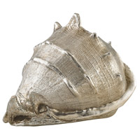 Sterling 3138-248 Coastal Silver Leaf Decorative Shell