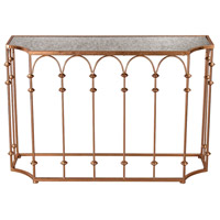 Sterling Heavy Metal Copper Arch Console 3138-253
