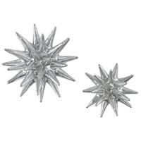 Sterling Parsec Wall Decor in Silver 3138-264/S2
