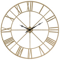 Pimlico Gold Wall Clock