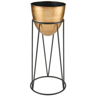Sterling 3138-414 Cincinnatus Black and Gold Planter