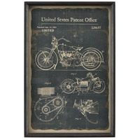 Chronicle 24 X 16 inch Framed Print, Moto