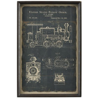 Chronicle 24 X 16 inch Framed Print, Locomotive