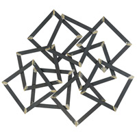 Wreck Tangle 40 X 36 inch Metal Wall Art