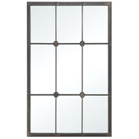 Old Manse 38 X 24 inch Pewter Wall Mirror