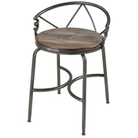 Hunt Seat Natural Wood with Pewter Chair