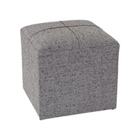 Sterling Signature Grey Cube Ottoman 3169-019