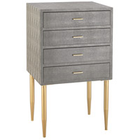 Elm Point Gold & Grey Chest