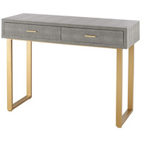 Nassau 42 X 21 inch Gold & Grey Desk