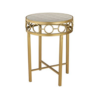 Castle Point 20 X 20 inch Gold & Grey Table Home Decor