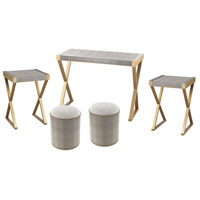 Sands Gold & Grey Furniture Set