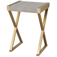 Sands 16 X 14 inch Gold & Grey Side Table Home Decor