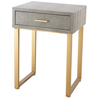 Sterling 3169-025S Beaufort 22 X 16 inch Gold & Grey Side Table