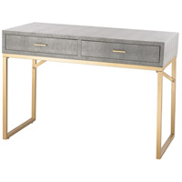Beaufort 39 X 16 inch Gold & Grey Desk