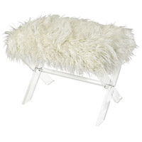 Sterling 3169-036 Zsa Zsa White Bench, Short