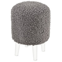 Sterling 3169-073 Punch Perm 18 inch Grey Poodle And Acrylic Stool