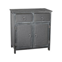 Sterling Restoration Grey Linen Covered Cabinet 3170-012