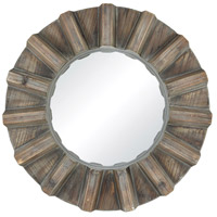 Via Salaria 17 X 17 inch Burnt Grey Wall Mirror Home Decor