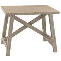 Sterling 3200-019 Signature 24 X 19 inch Grey Washed Driftwood Side Table