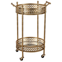 Sterling Signature Banded Round Bar Cart 3200-031