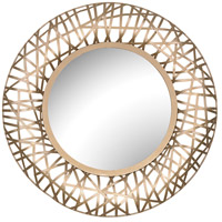 Sterling 3200-097 Field 24 X 24 inch Soft Gold Wall Mirror